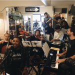 musicians room